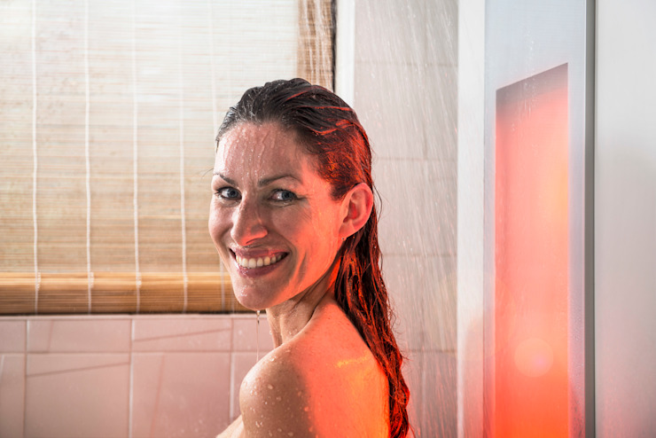 AM Badkamers - Sunshower Moderne badkamers van AM Badkamers Modern