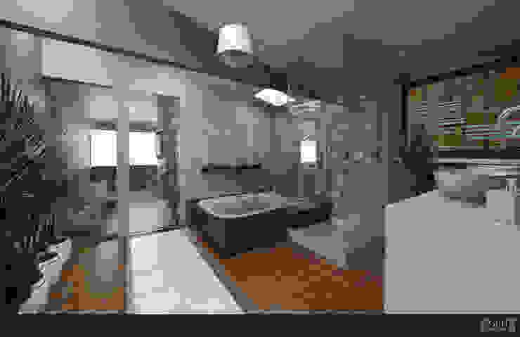 FAMILIA NEYRA Baños clásicos de GRH Interiores Clásico Compuestos de madera y plástico