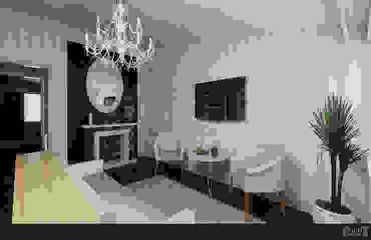 FAMILIA NEYRA Dormitorios clásicos de GRH Interiores Clásico Papel