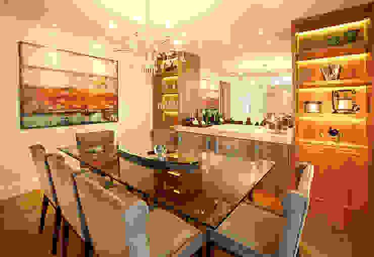 SALA DE JANTAR JULIANA MUCHON ARQUITETURA E INTERIORES Sala de jantarAcessórios e decoração