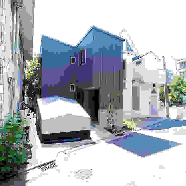 【LWH002】ファサード: 志田建築設計事務所が手掛けた家です。,インダストリアル