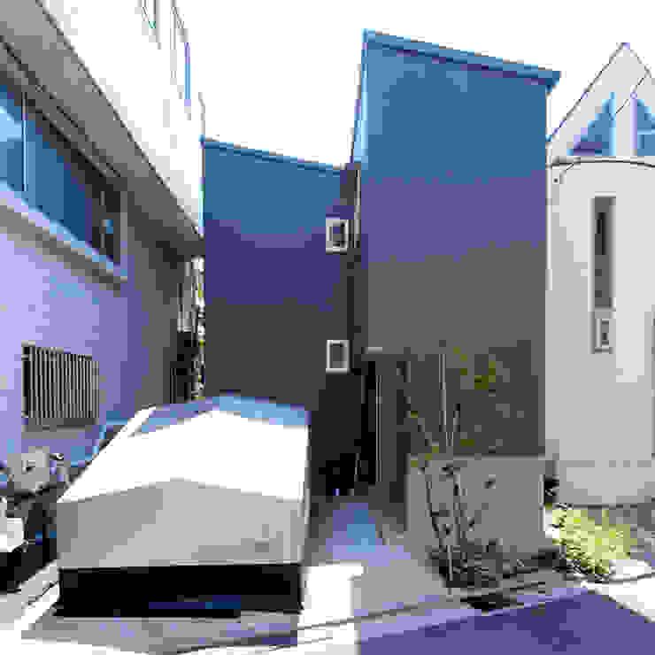 【LWH002】ファサード インダストリアルな 家 の 志田建築設計事務所 インダストリアル