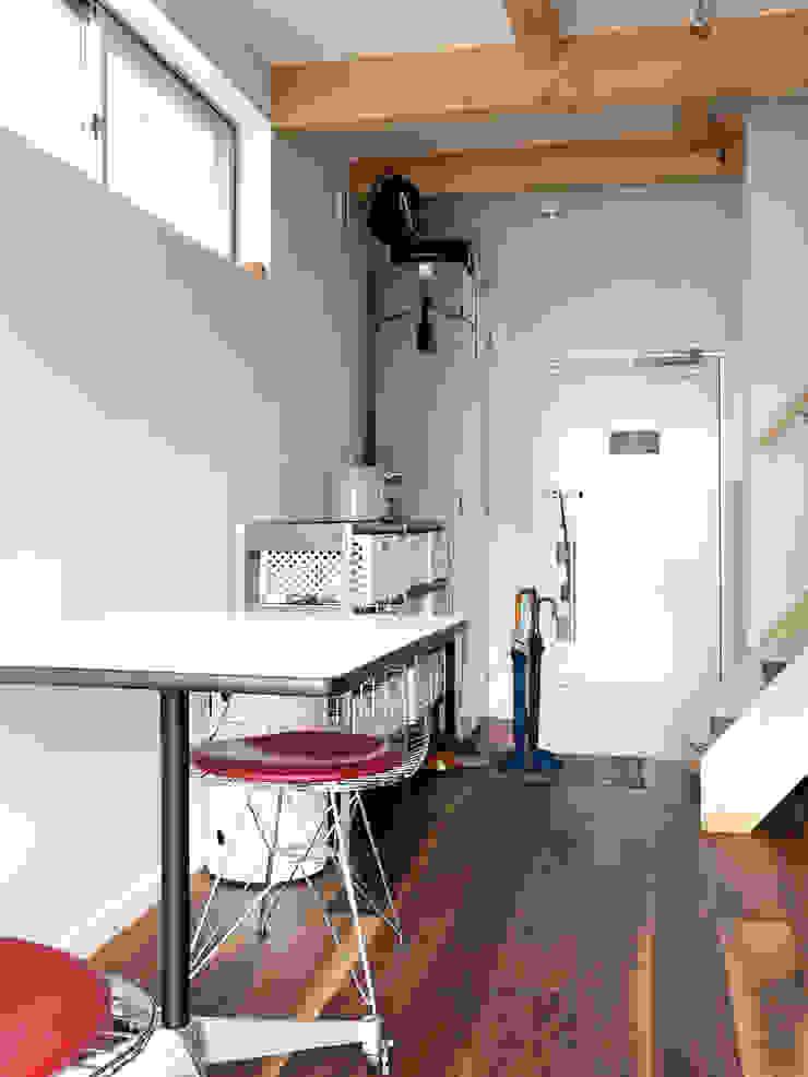 【LWH002】ダイニングキッチン インダストリアルデザインの ダイニング の 志田建築設計事務所 インダストリアル