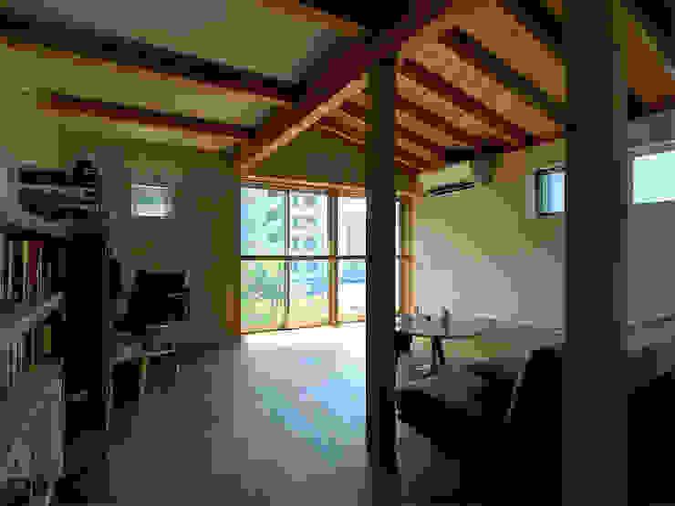 【LWH002】リビングルーム: 志田建築設計事務所が手掛けたリビングです。,インダストリアル