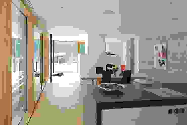 samerberg wohnhaus Moderne Esszimmer von krieger architekten bda Modern