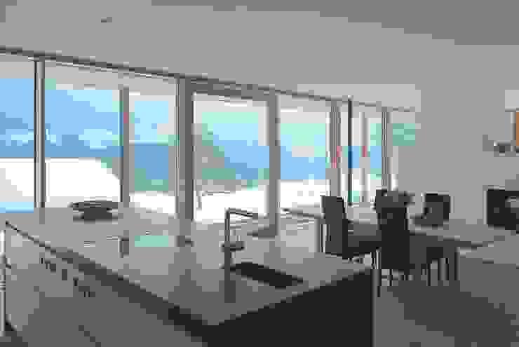 samerberg wohnhaus Moderne Küchen von krieger architekten bda Modern