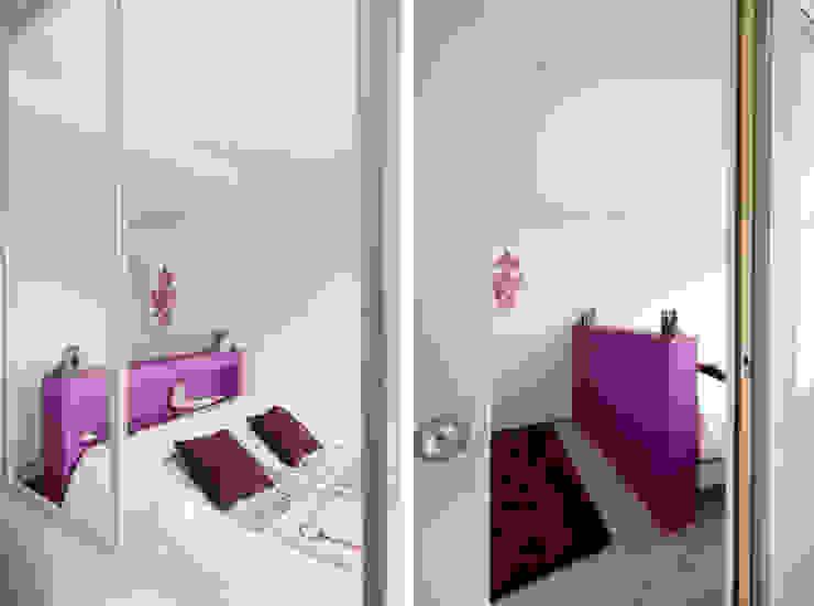 Rénovation d'un appartement à Fontaines sur Saone Chambre moderne par Marion Lanoë Moderne