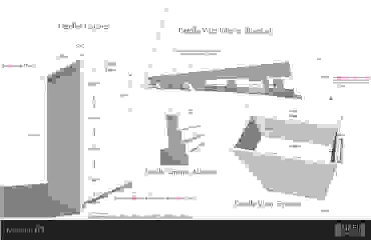 LAURA CALZADA SALÓN de GRH Interiores Moderno