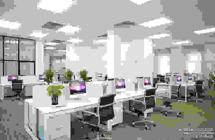 Офис, open space Рабочий кабинет в стиле лофт от ART-INTERNO Лофт