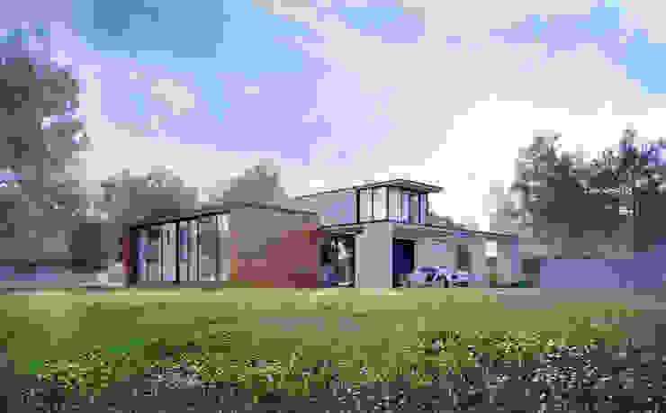 Концептуальный проект <q>Жилище с мотоциклами</q> Дома в эклектичном стиле от Александр Б Эклектичный