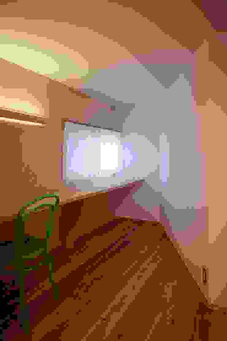 作業スペース オリジナルデザインの 書斎 の studio juna オリジナル
