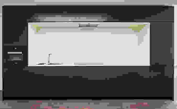 Küche SchwarzWeiß 01: modern  von Tischler Benjamin Scherz,Modern