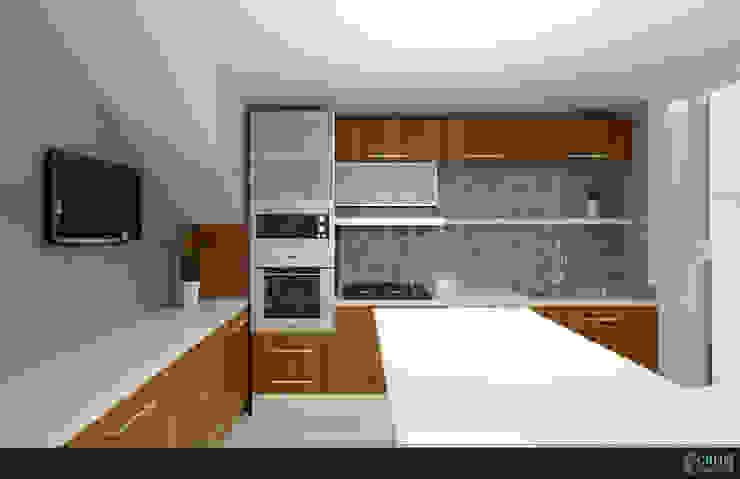 FAMILIA TGR Cocinas modernas de GRH Interiores Moderno Tableros de virutas orientadas