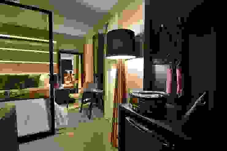 Apartamento Luxo Design Laghetto Quartos modernos por Bibiana Menegaz - Arquitetura de Atmosfera Moderno
