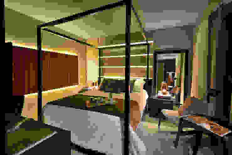 Moderne Schlafzimmer von Bibiana Menegaz - Arquitetura de Atmosfera Modern