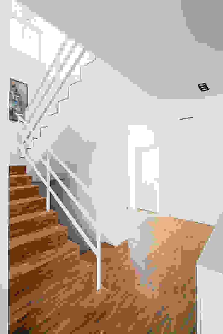Corneille Uedingslohmann Architekten Pasillos, vestíbulos y escaleras de estilo moderno