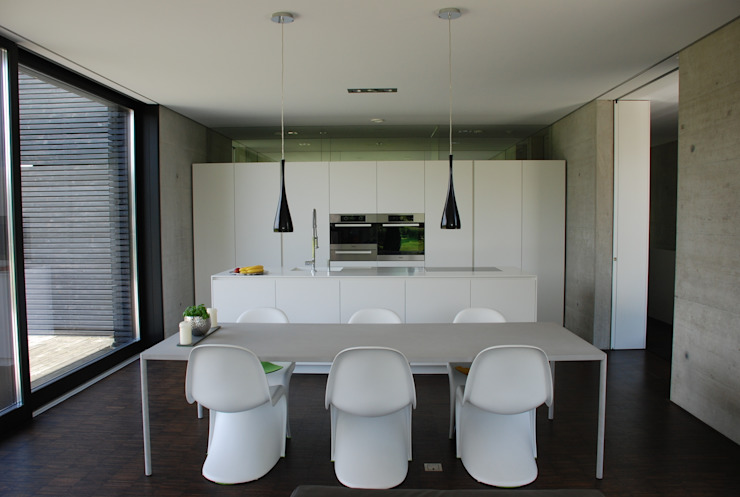 schroetter-lenzi Architekten Modern kitchen
