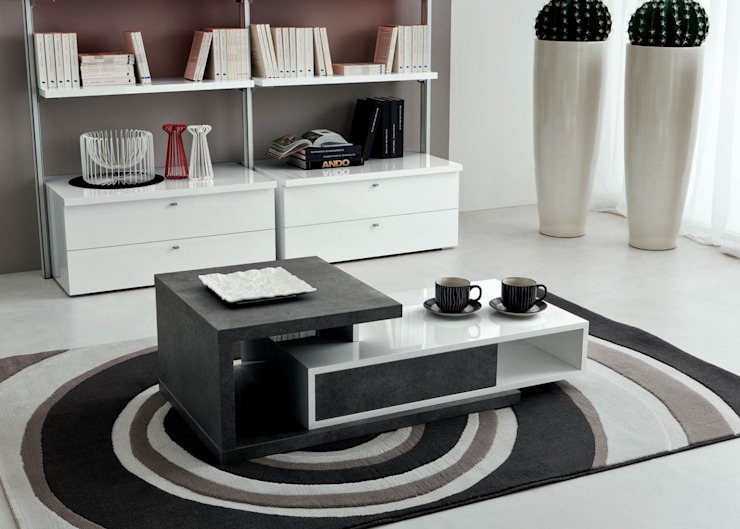 'Mary' transforming coffee table with drawer by La Primavera de My Italian Living Moderno