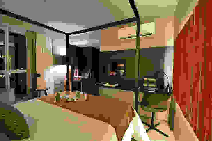 Luxo Design Hotel Quartos modernos por Bibiana Menegaz - Arquitetura de Atmosfera Moderno
