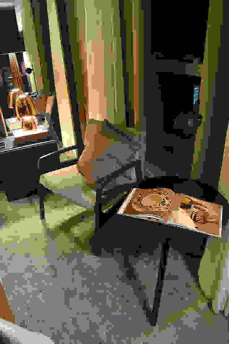 Casa Cor RS Quartos modernos por Bibiana Menegaz - Arquitetura de Atmosfera Moderno