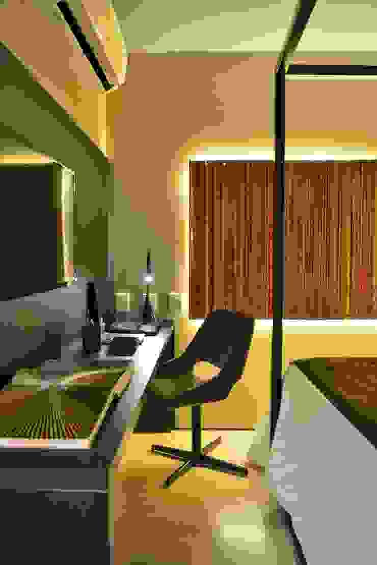 Hotel Luxo Design Quartos modernos por Bibiana Menegaz - Arquitetura de Atmosfera Moderno