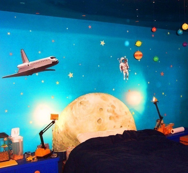 Space Wall Murals Banner Buzz Interior landscaping