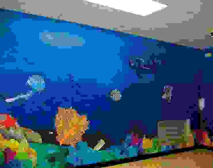 Underwater Murals de Banner Buzz Moderno