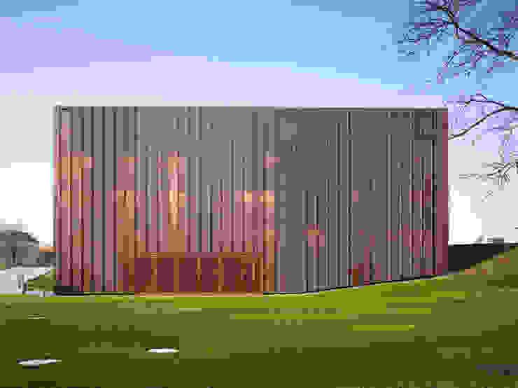 Festhütte Amriswil Moderne Veranstaltungsorte von Müller Sigrist Architekten AG Modern