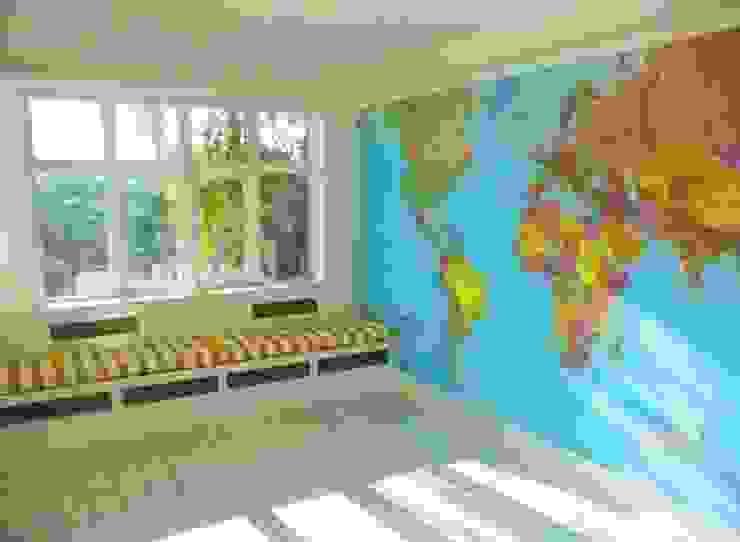 World Map Murals de Banner Buzz Moderno