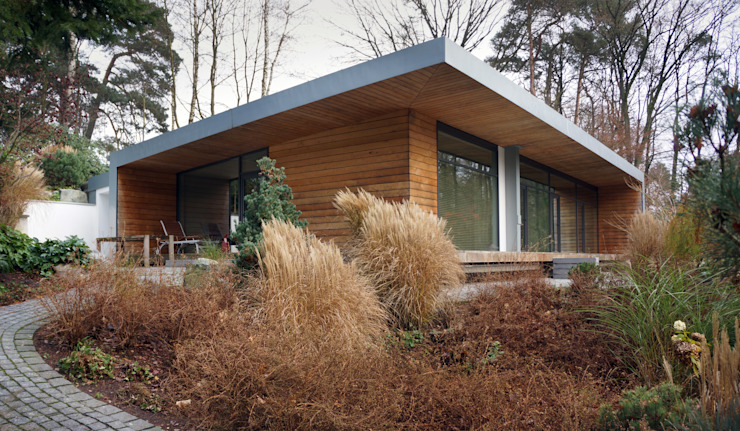 Einfamilienhaus Neubau Moderne Häuser von Cousin Architekt - Ökotekt Modern