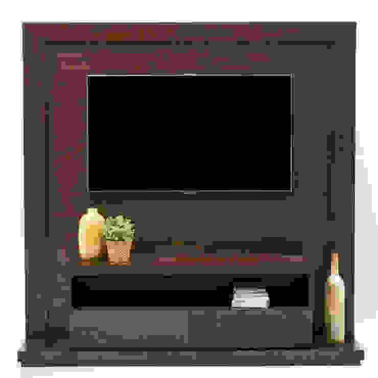 Mueble de TV enmarcado de MADERISTA Moderno Madera Acabado en madera