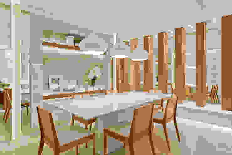 Dining room by Rolim de Moura Arquitetura e Interiores