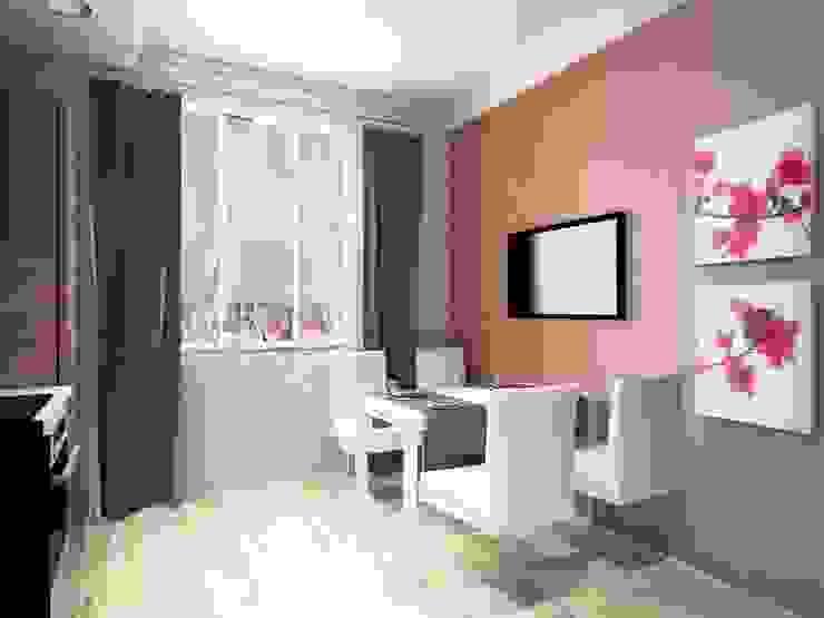 2-х комнатная квартира 54.42m² Кухня в азиатском стиле от PLANiUM Азиатский