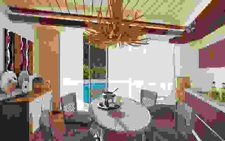 Комната отдыха Гостиная в стиле минимализм от UKRINTEL Минимализм