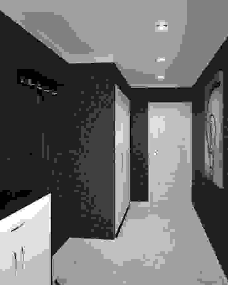 2-х комнатная квартира 81.17m² Коридор, прихожая и лестница в классическом стиле от PLANiUM Классический