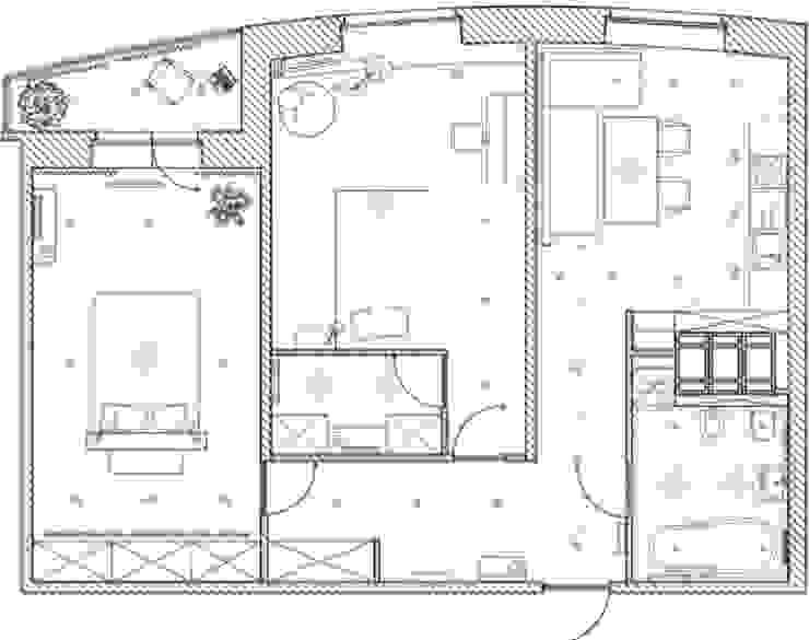 2-х комнатная квартира 81.17m² от PLANiUM