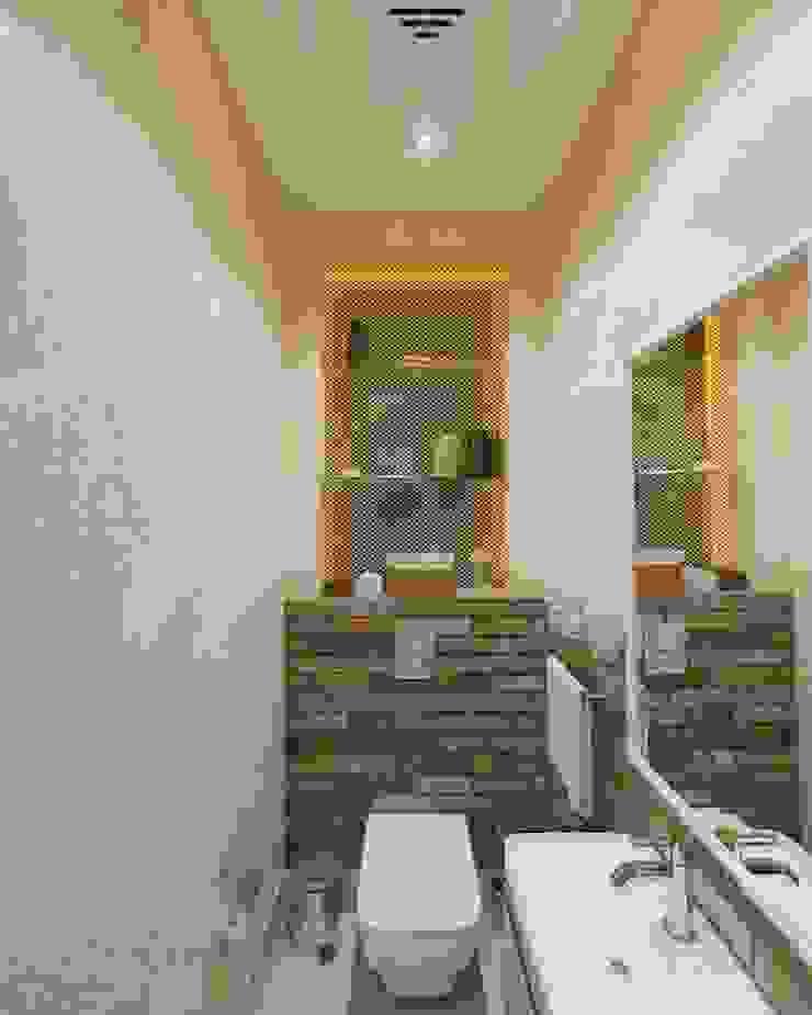 Комната отдыха Ванная комната в стиле минимализм от UKRINTEL Минимализм