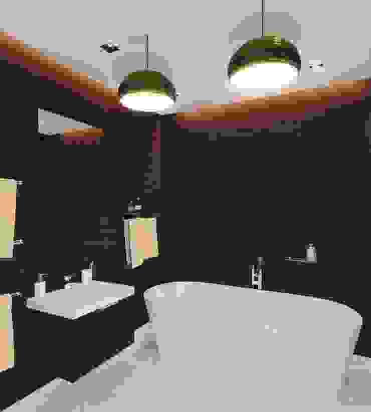 2-х комнатная квартира 81.17m² Ванная комната в стиле модерн от PLANiUM Модерн
