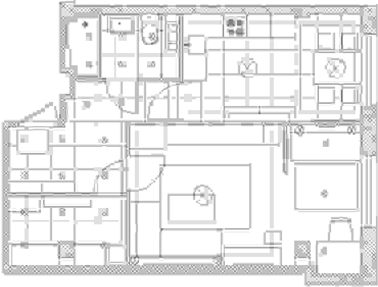 1-но комнатная квартира 51.95m² от PLANiUM