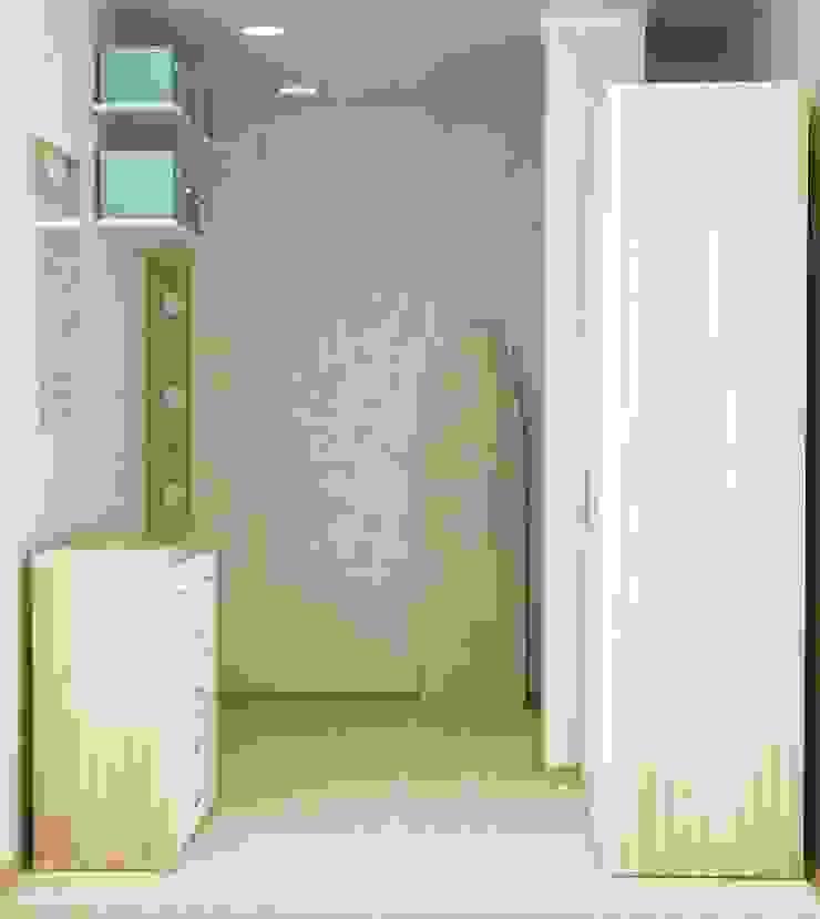 1-но комнатная квартира 51.95m² Гардеробная в скандинавском стиле от PLANiUM Скандинавский