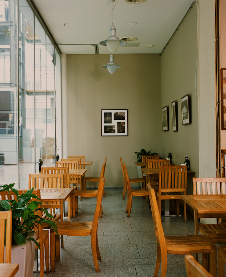 Ресторан <q>Correa's</q> от ANIMA Модерн