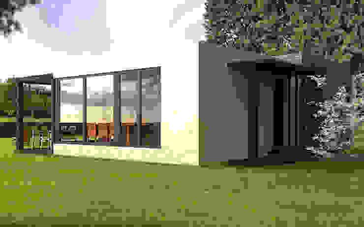 Casa Cube de 75 m2 Casas de estilo moderno de Casas Cube Moderno