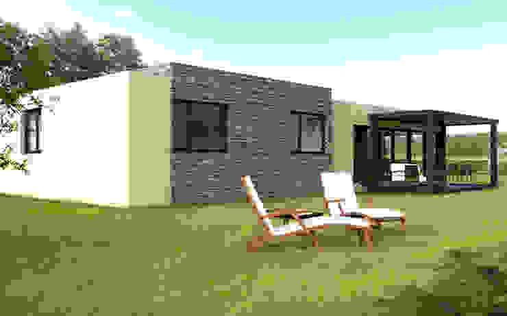 Casa Cube de 150 m2 Casas de estilo moderno de Casas Cube Moderno