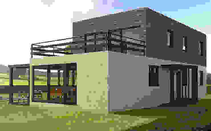 Modern Evler Casas Cube Modern