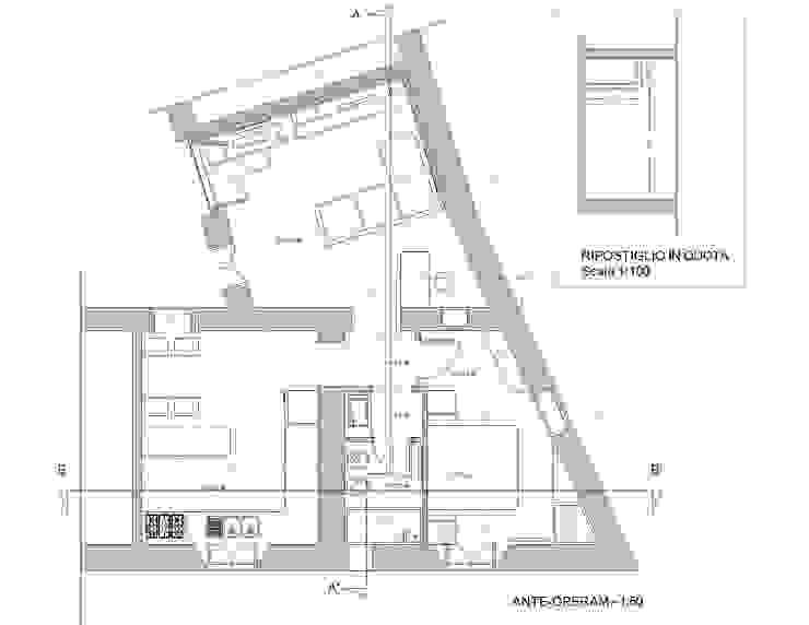 в современный. Автор – Studio di architettura Miletta, Модерн