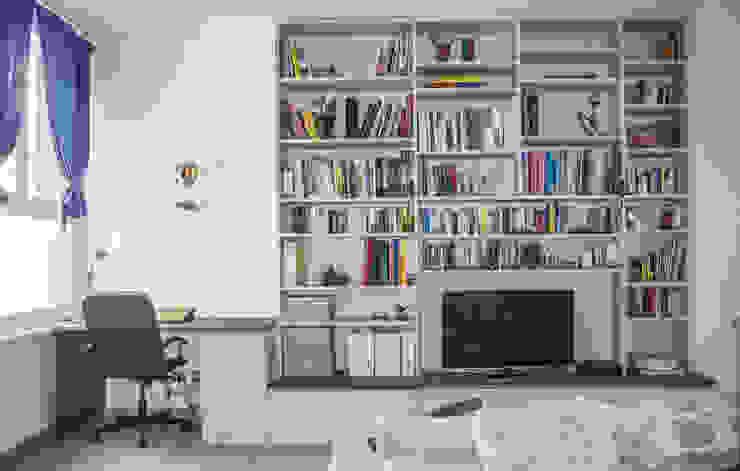 Гостиная в стиле модерн от Studio di architettura Miletta Модерн