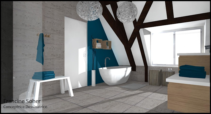 Bathroom by Francine Soher,