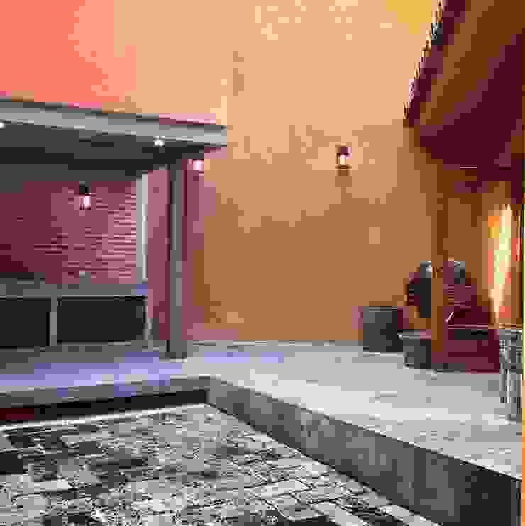 Asador Estudios y despachos modernos de Quinto Distrito Arquitectura Moderno Hierro/Acero