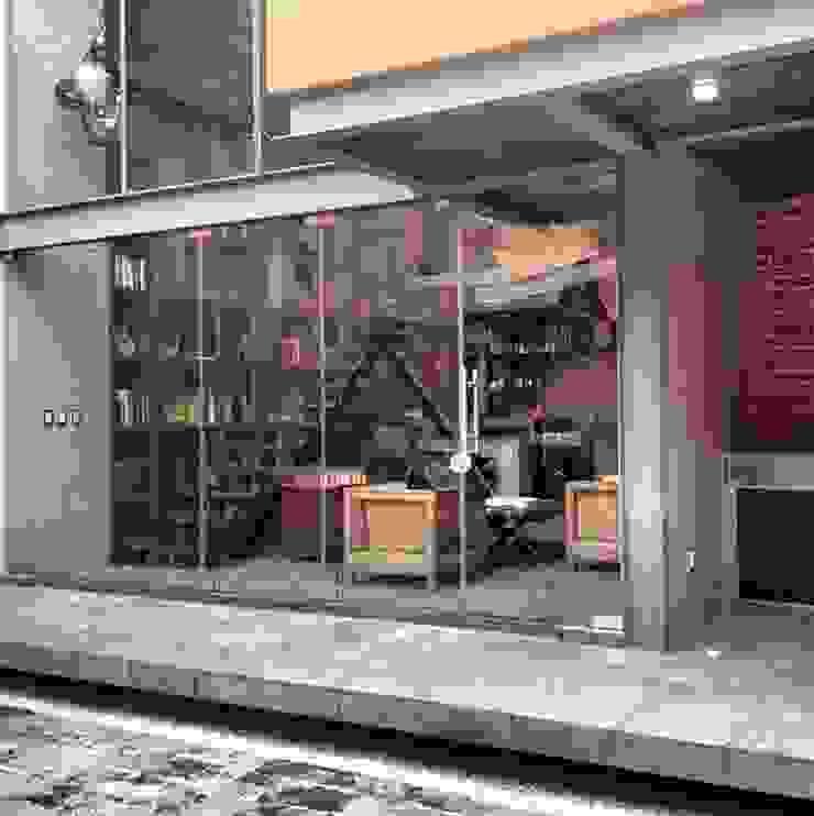 Fachada Casas industriales de Quinto Distrito Arquitectura Industrial Hierro/Acero