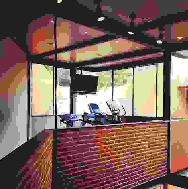 Gimnasio Gimnasios domésticos modernos de Quinto Distrito Arquitectura Moderno Ladrillos